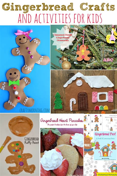 gingerbread crafts for gingerbread crafts and activities for simply today