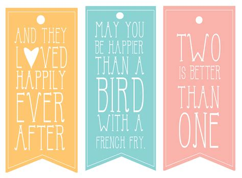 9 best images of printable wedding tags template free