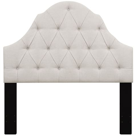 A Padded Headboard With Buttons by Linen Button Tufted Upholstered Headboard From Pulaski Coleman Furniture
