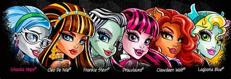 High Draculaura Cleo And Nile Ghoulia Yelps Doll Original plastic crew ghoulia yelps cleo de nile frankie stein