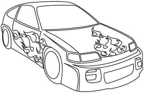 Car Coloring Pages Printable For Free printable race car coloring pages coloring me