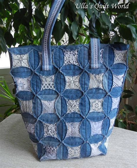 Denim Patchwork Bag Patterns Free - ulla s quilt world quilted pouch and bag cathedral