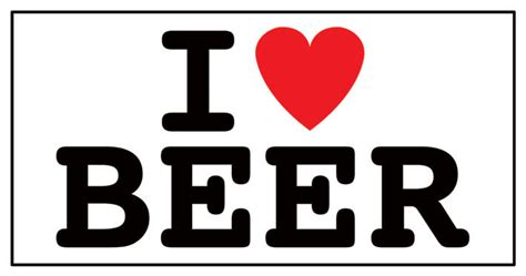 i love beer sticker sold at europosters
