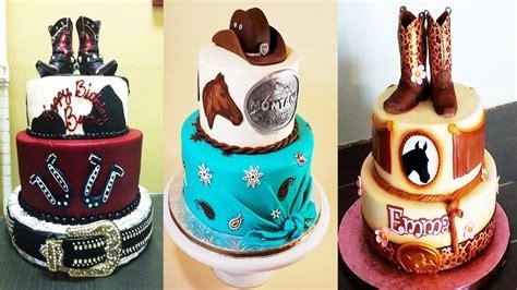 imagenes de tortas vaqueras pasteles para ni 241 os 161 161 al estilo vaquero decoraciones
