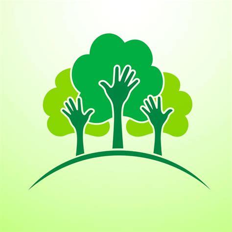 Green Concept Logo Vectors Green Concept Logo Vectors