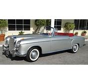 1957 Mercedes Benz 220 S Silver 001  Hooniverse
