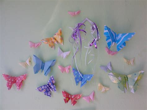 Origami Butterfly - peacefully folding origami butterfly