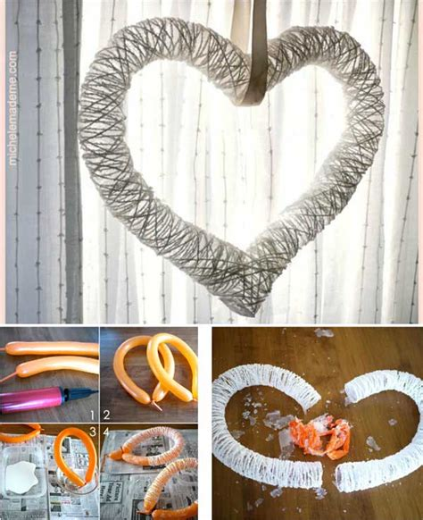 crafts for home decor 26 cute heart shaped diy crafts for valentines day world
