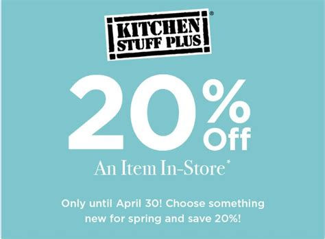 kitchen stuff plus canada coupons save 20 an item