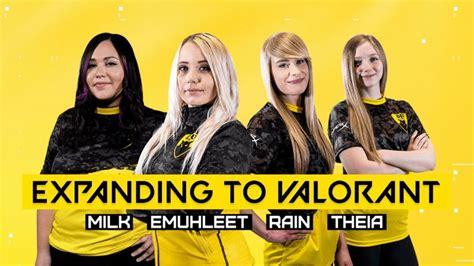 dignitas female resmi membentuk tim valorant  esports