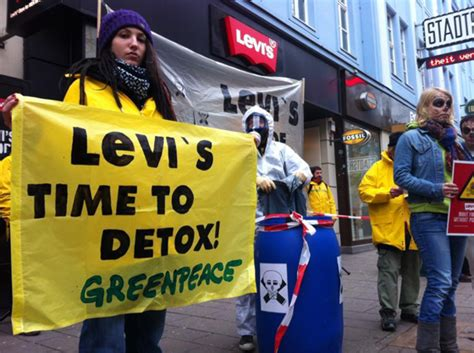 Greenpeace Clothing Detox by Brandchannel Greenpeace On Getting Levi S To Detox Quot We