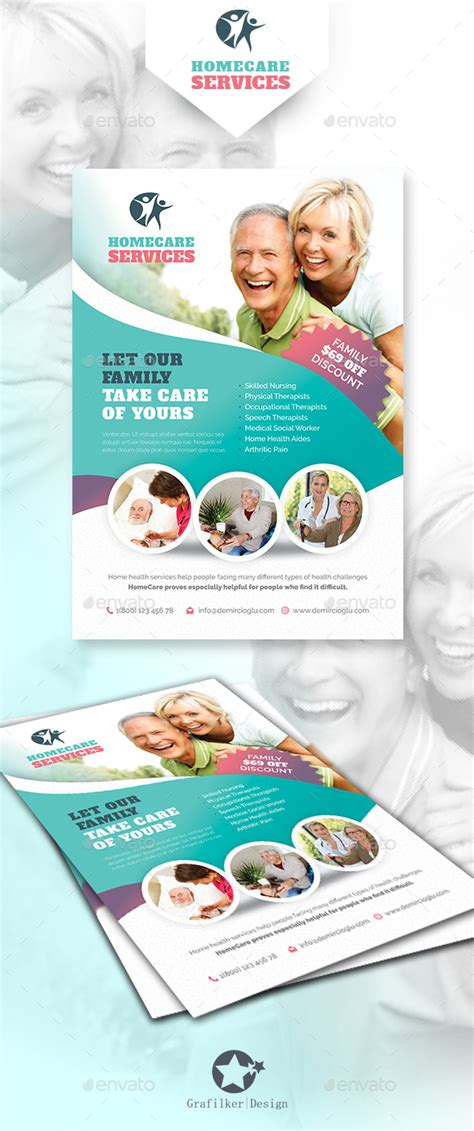 home health care templates home care flyer templates flyer template template and