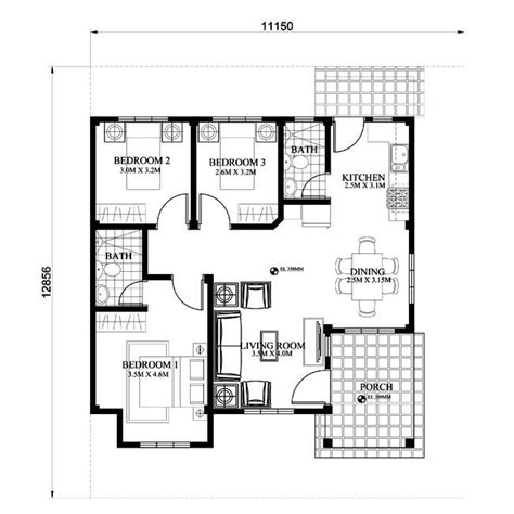create floor plans free 2018 modern bungalow house with 3d floor plans and firewall house designs house designs