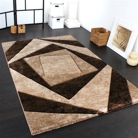 moderene teppiche teppich braun beige nzcen