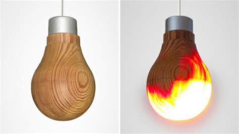 what do led light bulbs look like how in the world does this wooden lightbulb work