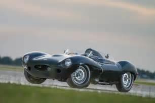 reunited jaguar d type and original lister jaguar to