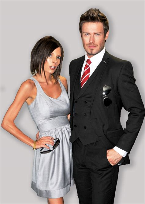 Posh And Becks Freaking Us Out by Posh And Becks Uk Lookalikes