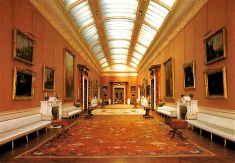 louisiana state rooms the picture gallery buckingham palace postcard the