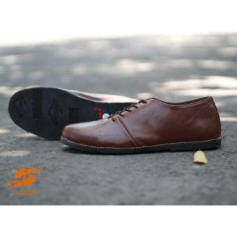 D Island Slop sepatu slop slip on loafer disland original kimochi coklat