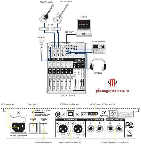 Mixer Behringer Xenyx 1832fx mixer behringer xenyx x1204usb phan nguyễn audio