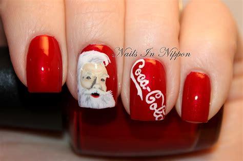 nails  nippon day  coka cola nails
