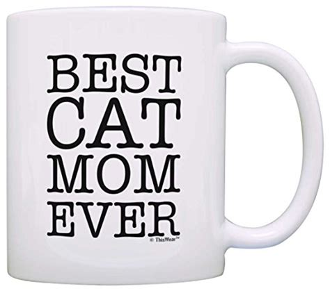 best cat mom ever mug cat lover gifts best cat mom ever pet owner rescue gift