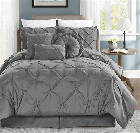 7 piece queen sydney bedding comforter set bedroom