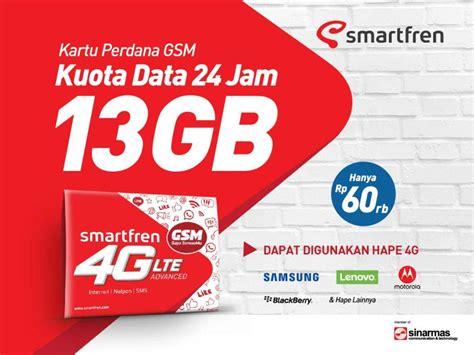 Paket Modem Smartfren 4g smartfren luncurkan paket 4g gsm dengan total kuota 13 gb per bulan yangcanggih