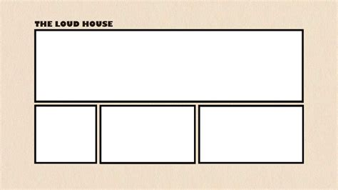 card template deviantart the loud house title card template by terryrule17 on