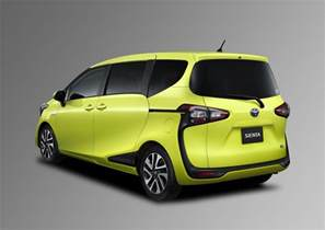 Toyota Sienta All New Toyota Sienta Compact Minivan Unveiled In Japan