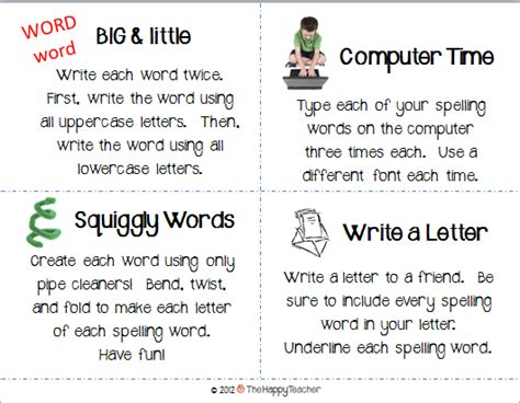 printable spelling games year 4 thehappyteacher spelling task cards a 25 target gift