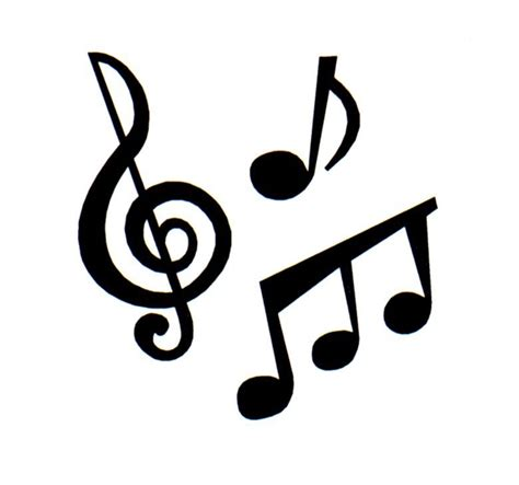 imagenes de notas musicales sin fondo imagenes notas musicales para imprimir imagenes y dibujos