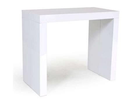 console extensible conforama console extensible olga coloris blanc brillant conforama