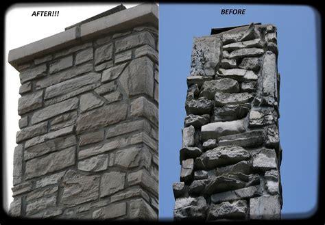 Chimney Masonry Repair Estimate - st louis chimney repair chimney rebuild brick repair