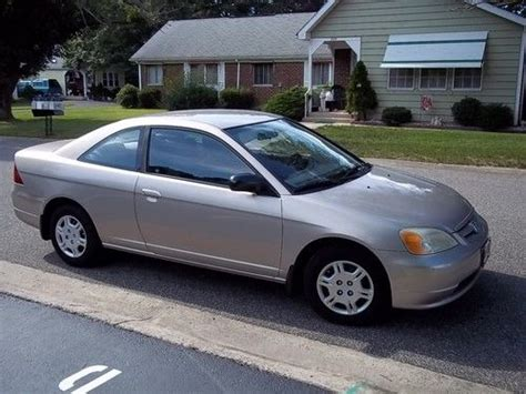 buy used 2002 honda civic lx coupe 2 door 1 7l in