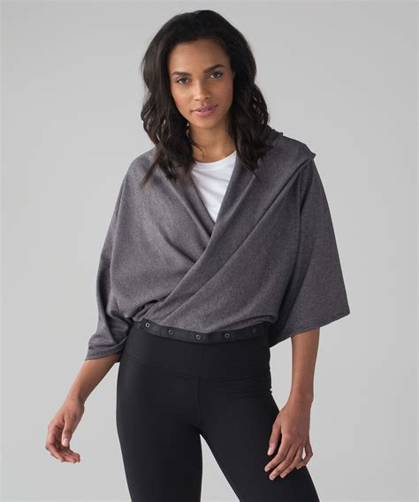 lululemon vinyasa scarf rulu wee stripe black