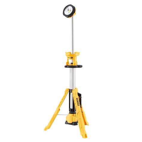 dewalt led portable work light dewalt dcl079 18v xr led cordless tripod work light body