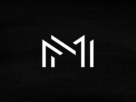 design a monogram logo mm monogram by michael spitz dribbble