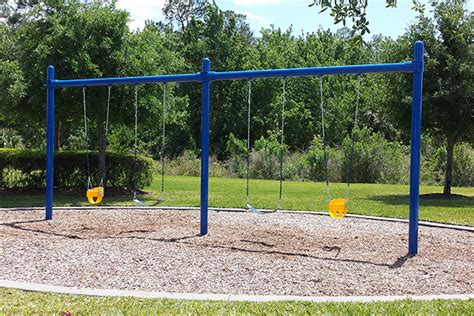 metal commercial swing set commercial swing sets planet playgrounds inc