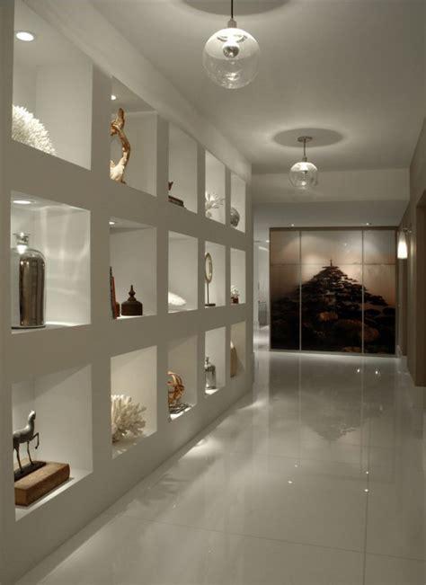 stunning illuminated wall niches  enjoy daily