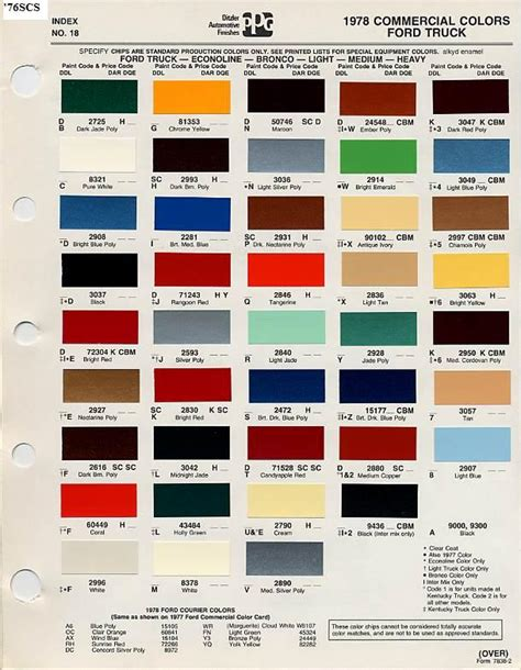 ford interior paint codes brokeasshome