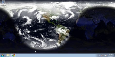 rotating earth wallpaper for mac desktop earth sets a rotating picture of the earth as your