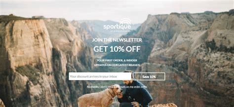 sportique san francisco lifestyle brand marketing study 3x email list growth