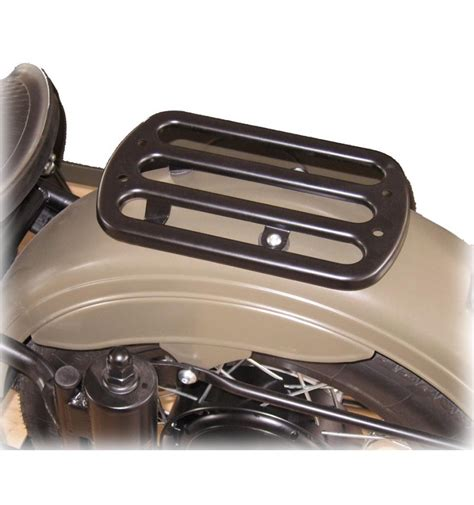 luggage rack for rear fender stainless
