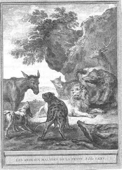 Jean-Baptiste Oudry: Les animaux malades de la peste