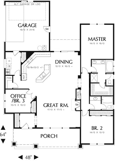 home design story levels best one and a half story house plans arts with basement 3