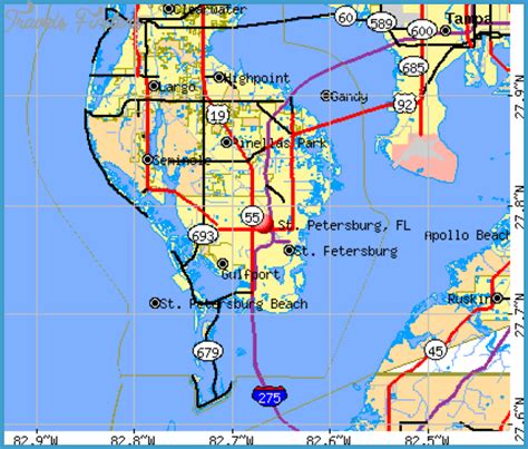 map of ta florida petersburg florida map 28 images ta st petersburg subway map map travel map of vistas on