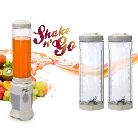 shake n go smoothie maker with sports bottle blender