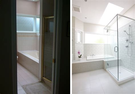 before amp after a quot sweet little bathroom renovation