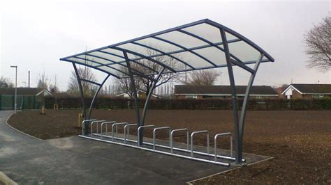 falco manufactured  installed  falcorail cycle canopy
